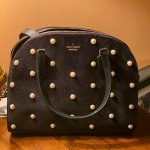 Kate Spade Laurel Way Velvet Handbag